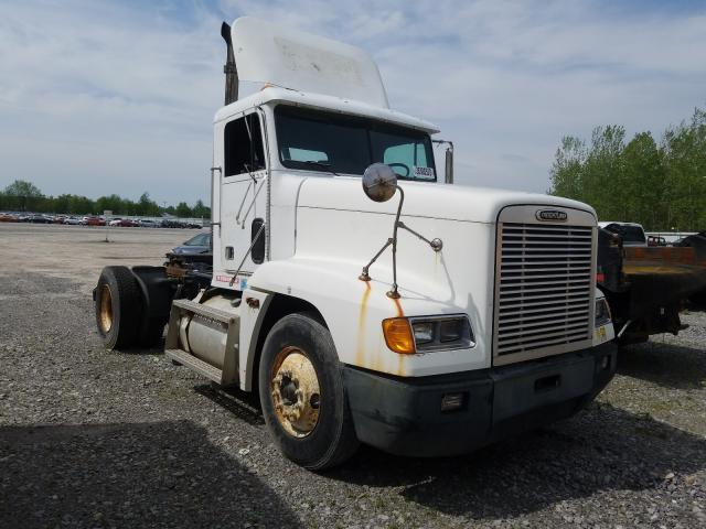Salvage cars for sale from Copart Leroy, NY: 1998 Freightliner Convention