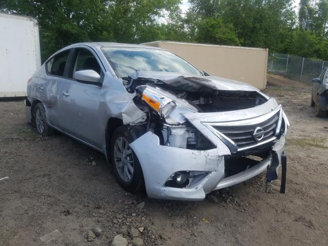Salvage cars for sale from Copart Baltimore, MD: 2019 Nissan Versa S