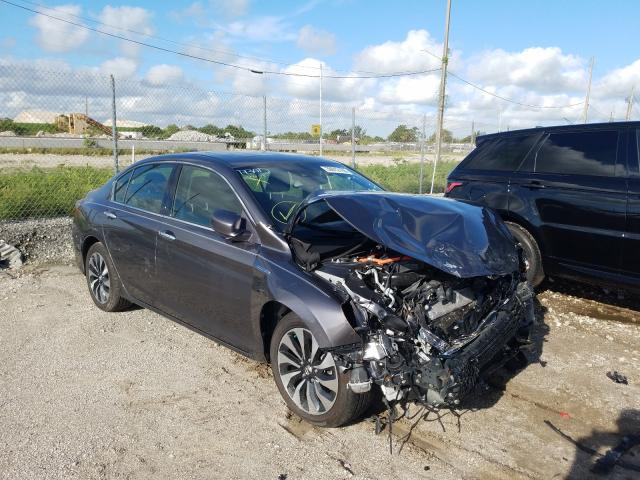 Honda Accord Hybrid salvage cars for sale: 2017 Honda Accord Hybrid