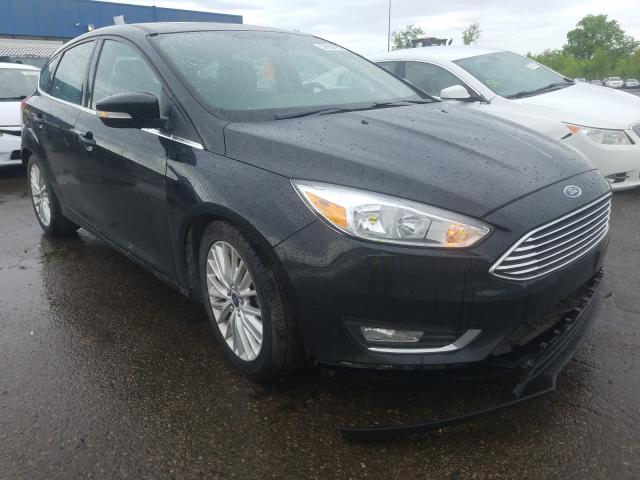 Ford Focus Titanium salvage cars for sale: 2015 Ford Focus Titanium