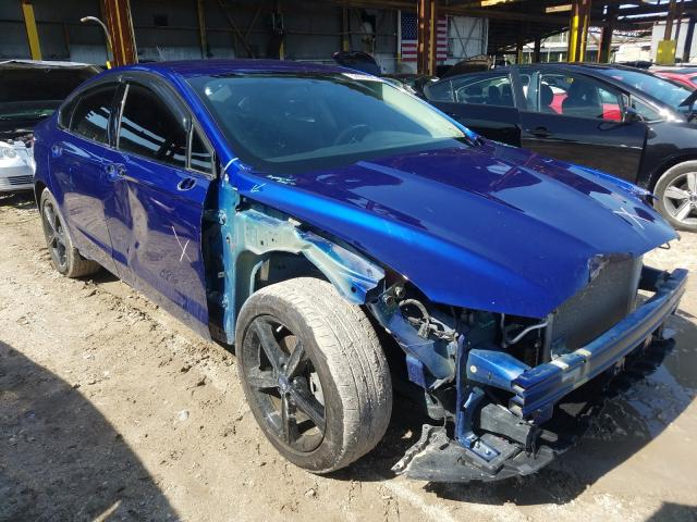 Salvage cars for sale from Copart Jacksonville, FL: 2016 Ford Fusion SE