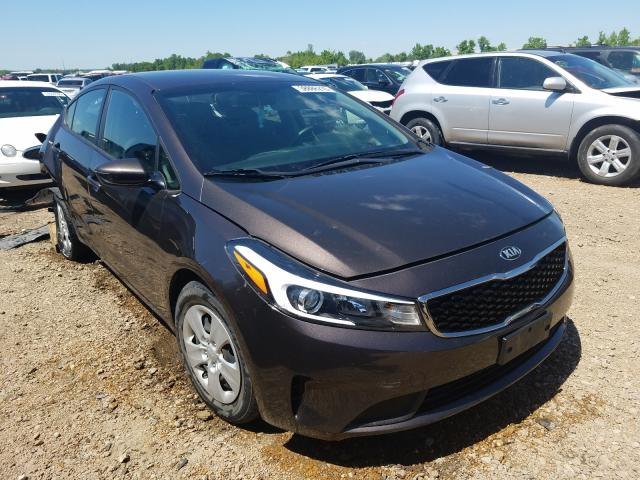 KIA salvage cars for sale: 2017 KIA Forte LX