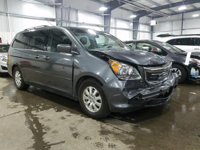 Salvage cars for sale from Copart Ham Lake, MN: 2010 Honda Odyssey EX