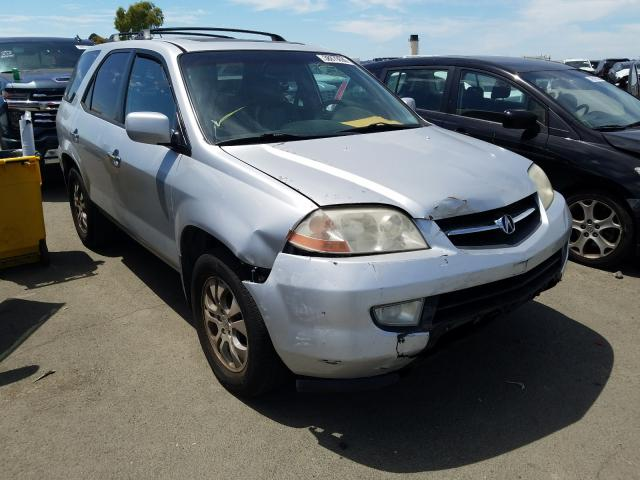 Acura MDX Touring salvage cars for sale: 2003 Acura MDX Touring