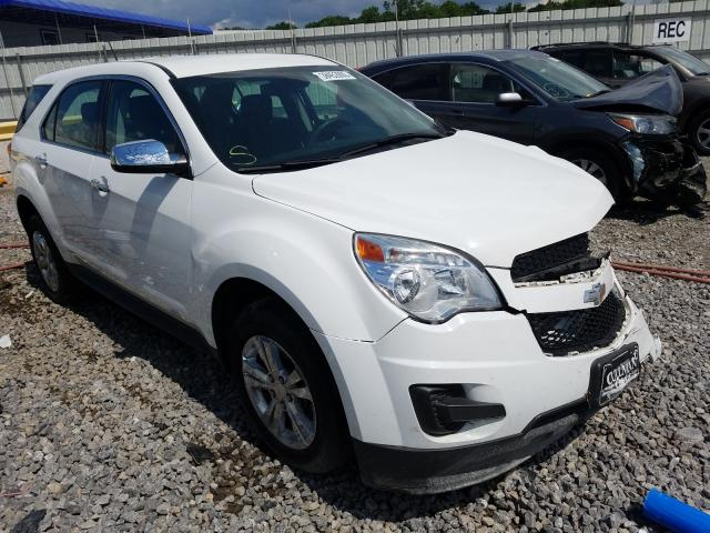Chevrolet Equinox LS salvage cars for sale: 2015 Chevrolet Equinox LS