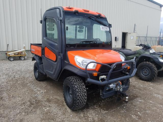 Salvage cars for sale from Copart Rocky View County, AB: 2014 Kubota X1100
