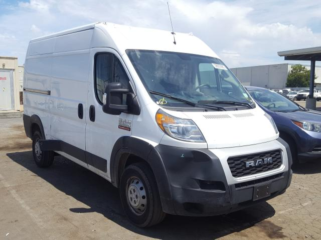 Salvage cars for sale from Copart Hayward, CA: 2019 Dodge RAM Promaster