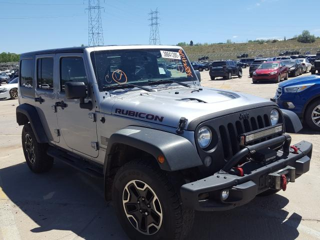 Jeep Wrangler U salvage cars for sale: 2015 Jeep Wrangler U