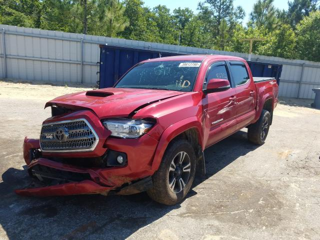 2017 TOYOTA TACOMA DOU - Left Front View