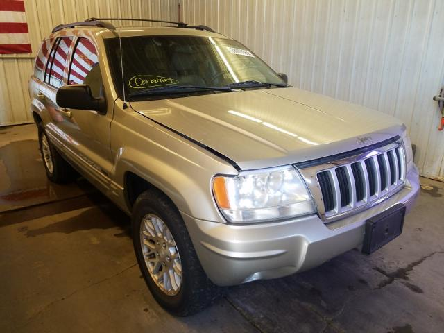 Salvage cars for sale from Copart Avon, MN: 2004 Jeep Grand Cherokee