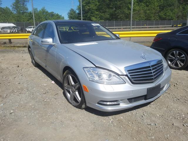 Salvage cars for sale from Copart Waldorf, MD: 2012 Mercedes-Benz S 550 4matic