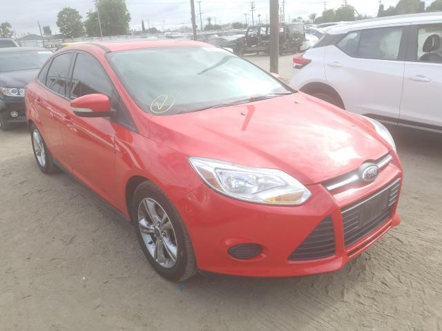 Ford Focus SE salvage cars for sale: 2014 Ford Focus SE