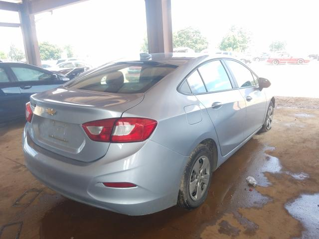 2018 CHEVROLET CRUZE LS - Right Rear View