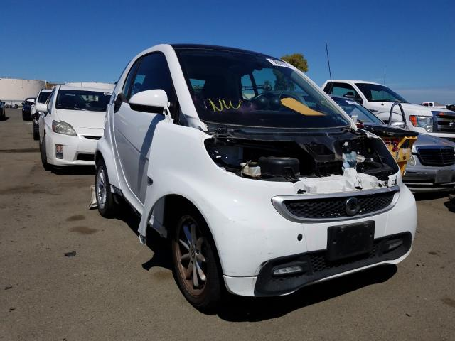 Smart salvage cars for sale: 2015 Smart Fortwo