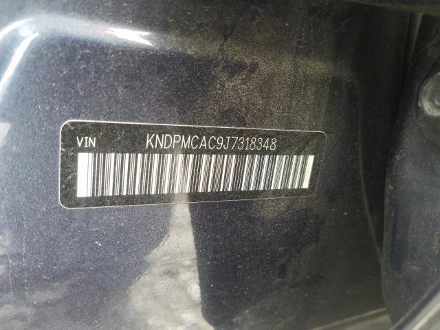 KNDPMCAC9J7318348 2018 KIA SPORTAGE LX