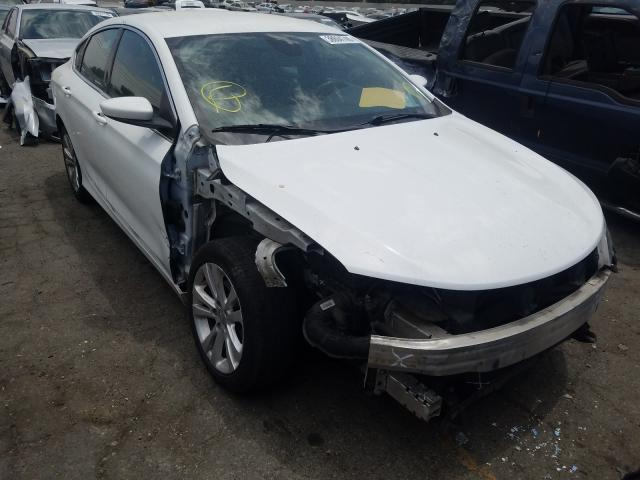 Salvage cars for sale from Copart Colton, CA: 2015 Chrysler 200 Limited