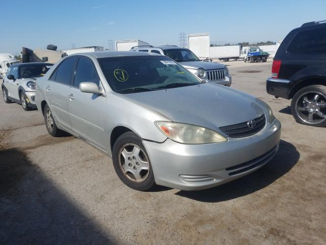 Toyota salvage cars for sale: 2002 Toyota Camry LE