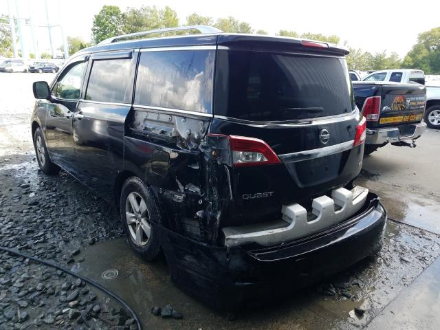 купить 2012 NISSAN QUEST S JN8AE2KP3C9038709