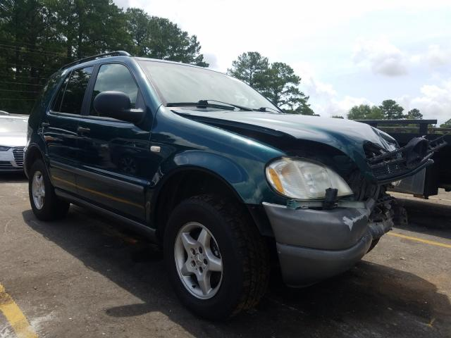 Mercedes-Benz salvage cars for sale: 1999 Mercedes-Benz ML 320
