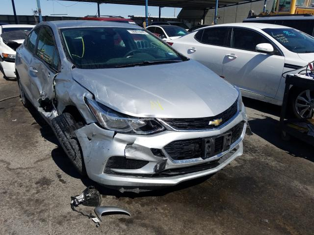 Salvage cars for sale from Copart Anthony, TX: 2018 Chevrolet Cruze LS