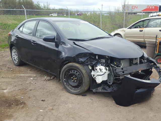 Salvage cars for sale from Copart Atlantic Canada Auction, NB: 2017 Toyota Corolla L