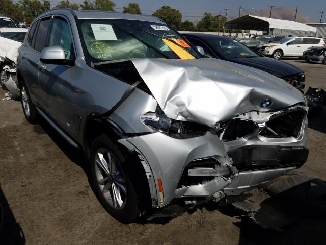 Salvage cars for sale from Copart Colton, CA: 2020 BMW X3 SDRIVE3