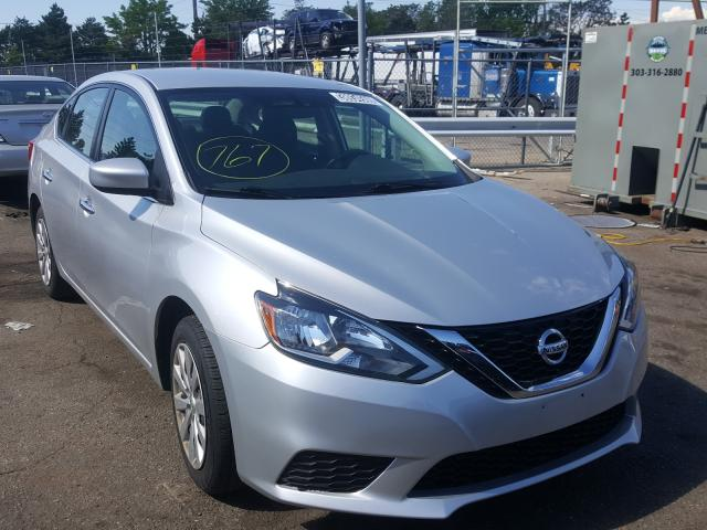 Salvage cars for sale from Copart Denver, CO: 2017 Nissan Sentra S