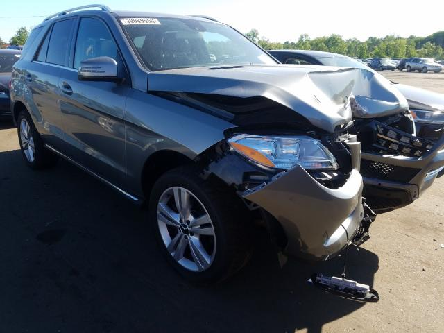 Mercedes-Benz salvage cars for sale: 2012 Mercedes-Benz ML 350 4matic