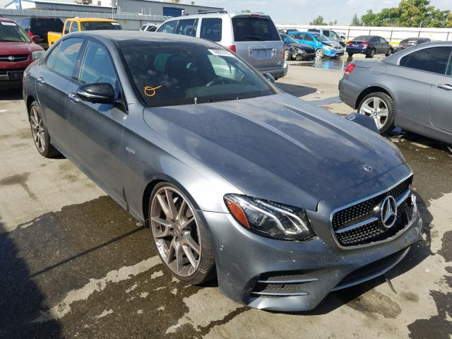 Salvage cars for sale from Copart Bakersfield, CA: 2019 Mercedes-Benz E AMG 53 4