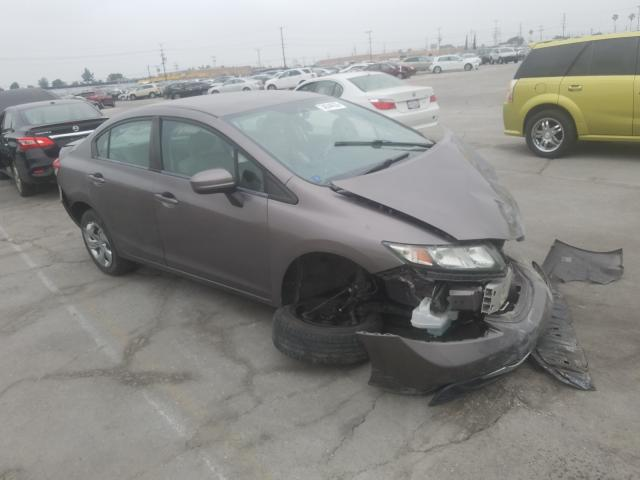 Honda Civic LX salvage cars for sale: 2014 Honda Civic LX
