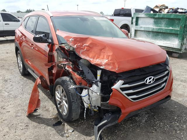 Hyundai Tucson Limited salvage cars for sale: 2017 Hyundai Tucson Limited