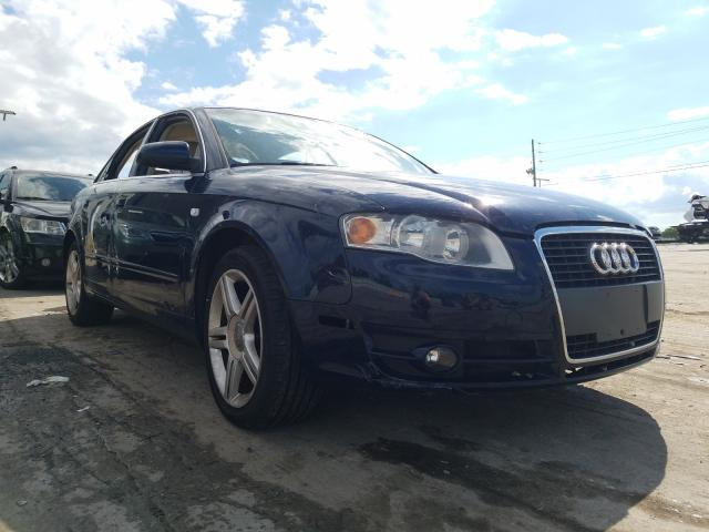 Audi salvage cars for sale: 2006 Audi A4 2.0T Quattro