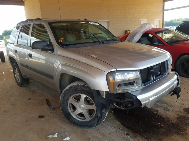 Chevrolet Trailblazer salvage cars for sale: 2005 Chevrolet Trailblazer