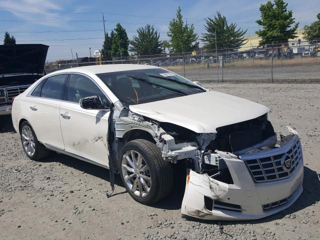 Salvage cars for sale from Copart Eugene, OR: 2014 Cadillac XTS Luxury