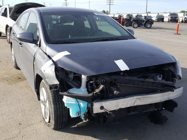 Hyundai salvage cars for sale: 2018 Hyundai Ioniq Blue