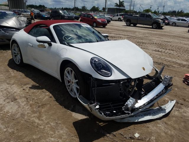 Porsche salvage cars for sale: 2020 Porsche 911 Carrer