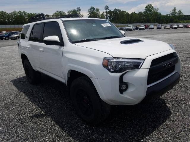 Salvage cars for sale from Copart Spartanburg, SC: 2019 Toyota 4runner SR
