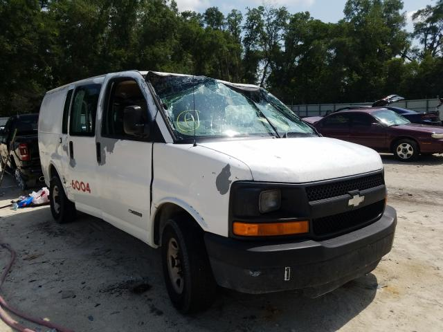 Salvage cars for sale from Copart Ocala, FL: 2004 Chevrolet Express G3