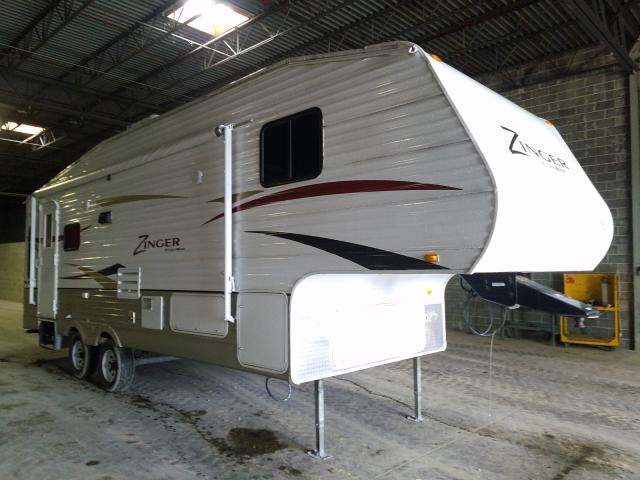 Crossroads 5th Wheel salvage cars for sale: 2011 Crossroads 5th Wheel