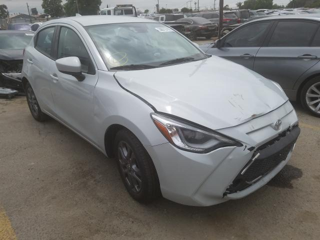 Toyota Yaris LE salvage cars for sale: 2020 Toyota Yaris LE