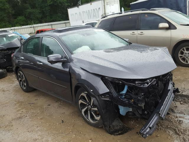 Salvage cars for sale from Copart Midway, FL: 2017 Honda Accord EXL