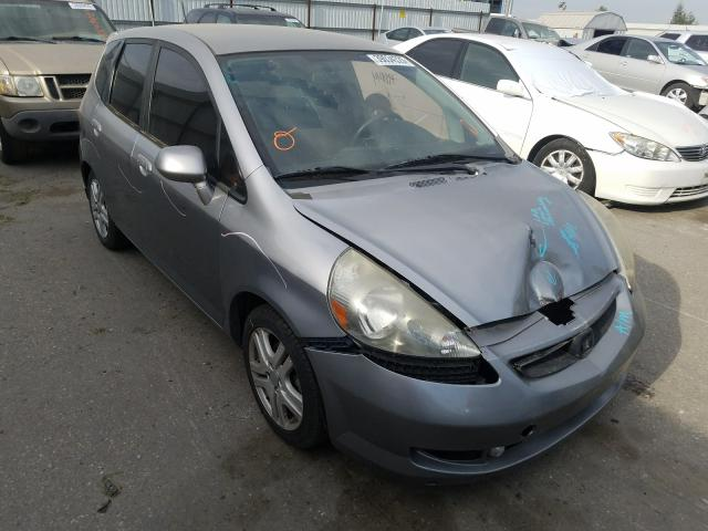 Salvage cars for sale from Copart Bakersfield, CA: 2007 Honda FIT S