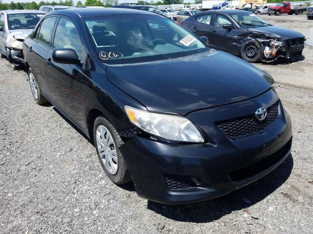 Salvage cars for sale from Copart Columbia Station, OH: 2010 Toyota Corolla BA