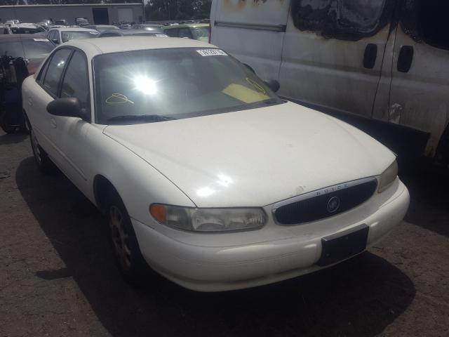 Buick salvage cars for sale: 2003 Buick Century CU