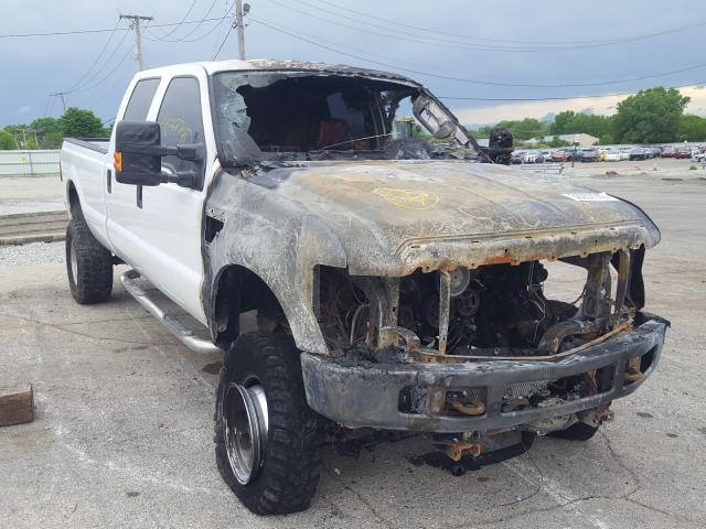 Salvage cars for sale from Copart Chicago Heights, IL: 2008 Ford F350 SRW S