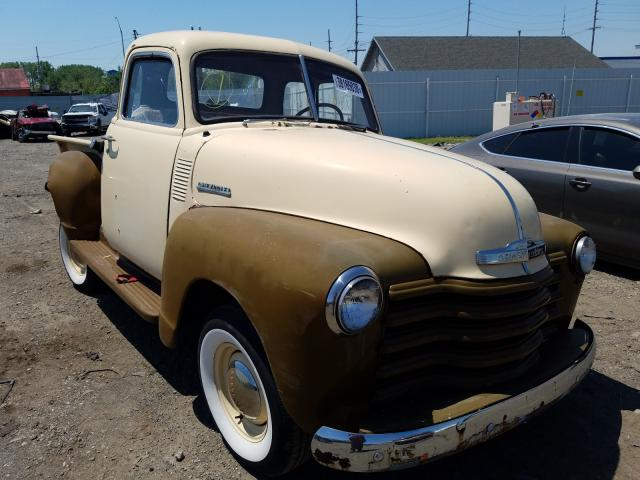 Chevrolet Pickup salvage cars for sale: 1949 Chevrolet Pickup