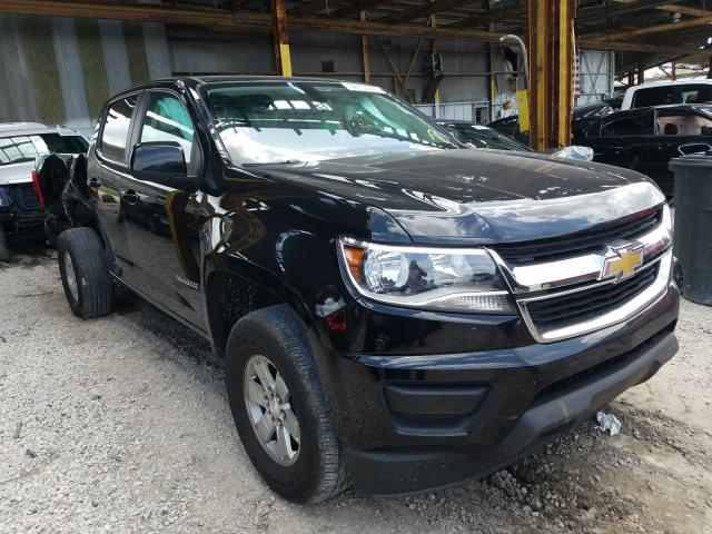 Salvage cars for sale from Copart Jacksonville, FL: 2016 Chevrolet Colorado