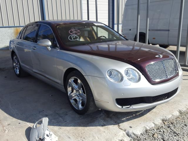 Bentley salvage cars for sale: 2007 Bentley Continental