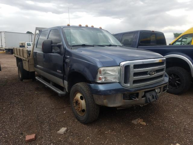Salvage cars for sale from Copart Colorado Springs, CO: 2005 Ford F350 Super