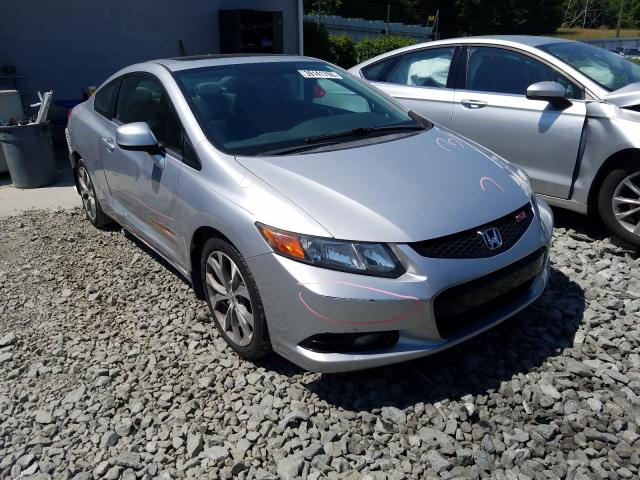 Salvage cars for sale from Copart Mebane, NC: 2012 Honda Civic SI